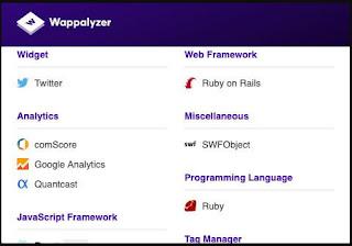 اضافة, Wappalyzer, لمصفحات, جوجل, كروم, وفايرفوكس
