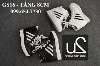 Giày tăng chiều cao nữ sneaker cá tính năng động tại tphcm và hà nộ6i