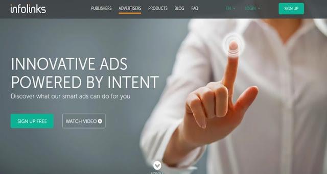 Infolinks ad network
