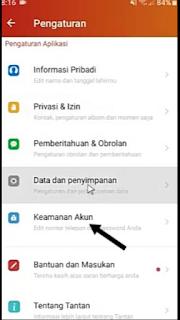Cara Hapus Akun Tantan Secara Permanen di Hp Android