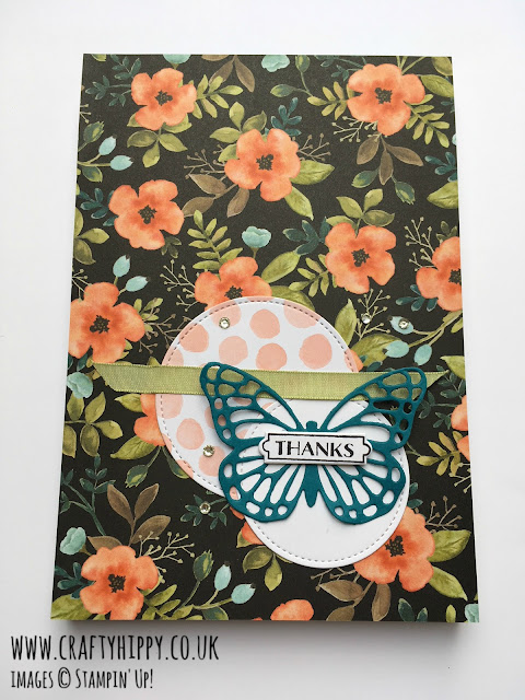 Make a gorgeous notebook using the Whole Lot of Lovely Designer Series Paper by Stampin' Up!