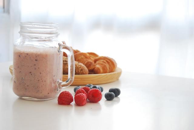 desayuno fácil con fruta para niños