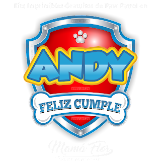Logo de Paw Patrol: ANDY