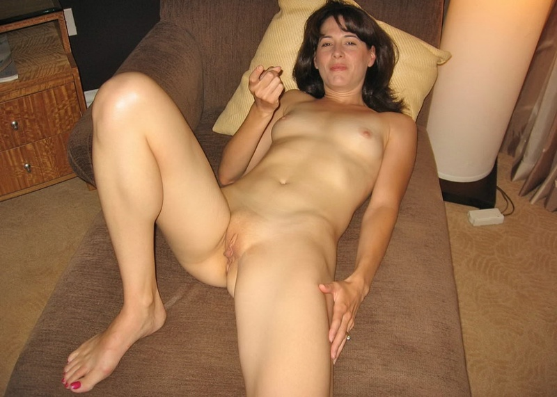 My sexy wife hanging around the house naked