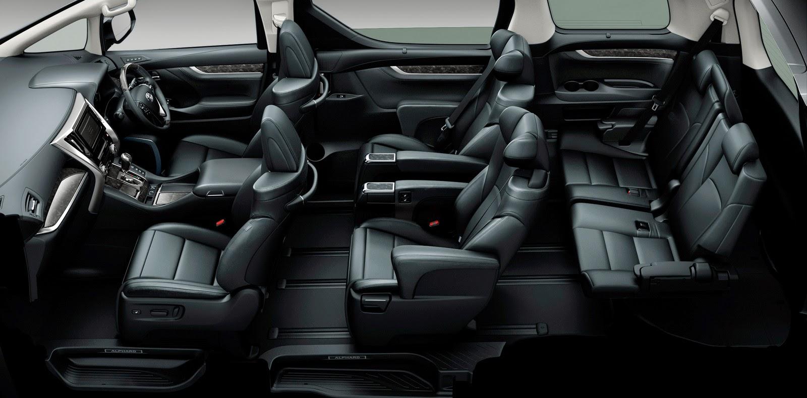 All New Alphard Hybrid Grand Avanza Vs Great Xenia Car News Update เปดตว Toyota Vellfire