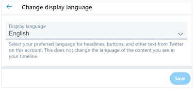 英語でツイッター(Twitter)_表示言語を英語にする手順その3