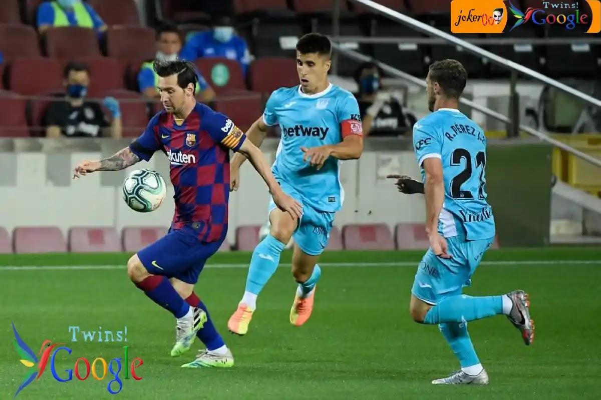 نهاية الشوط الأول 1-0| مباراة برشلونة وليجانيس في الدوري الإسباني «تغطية مباشرة»