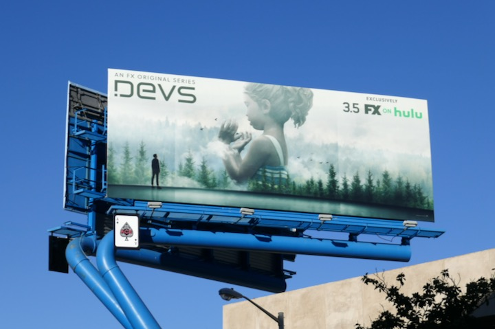 Devs series premiere billboard