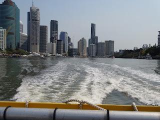 Brisbane River Skyline Riverside Centre