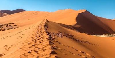 معنى رؤية الرمل في الحلم لابن سيرين والنابلسي وابن شاهين