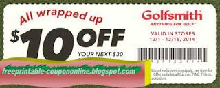 Free Printable Golfsmith Coupons