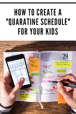 Quarantine Schedule for Kids