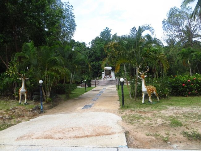 Памятник Королю Таиланда на Пангане