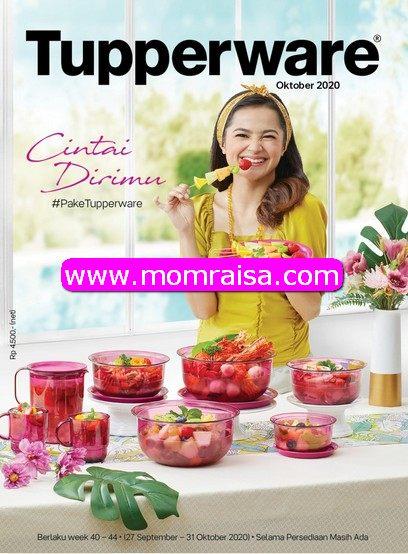 Brosur Promo Tupperware Bulan OKTOBER 2020 Berlaku 27 September 2020 - 31 Oktober 2020