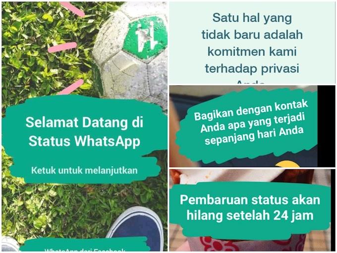 Story Whatsapp Tetiba Muncul! Apa Maksudnya?
