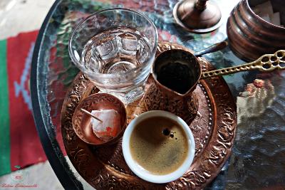oggetti metallo caffè turco