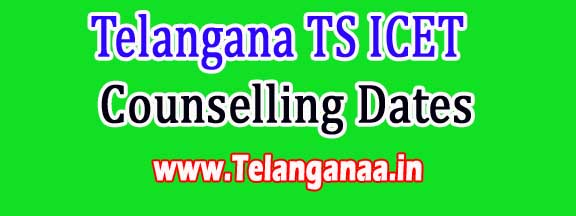Telangana TS ICET Rescheduled Counselling Dates 2016