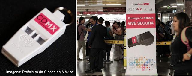 Segurança para mulheres no Metrô da Cidade do México