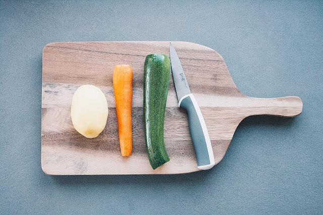 Brodo vegetale per lo svezzamento del bambino step 2