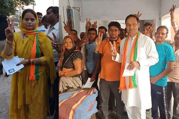 sohan-pal-chhokar-bjp-candidate-prithla-caste-vote-his-wife-dr-asha-singh