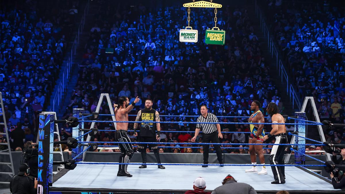 Revelados os favoritos para os combates pelas maletas no WWE Money in the Bank