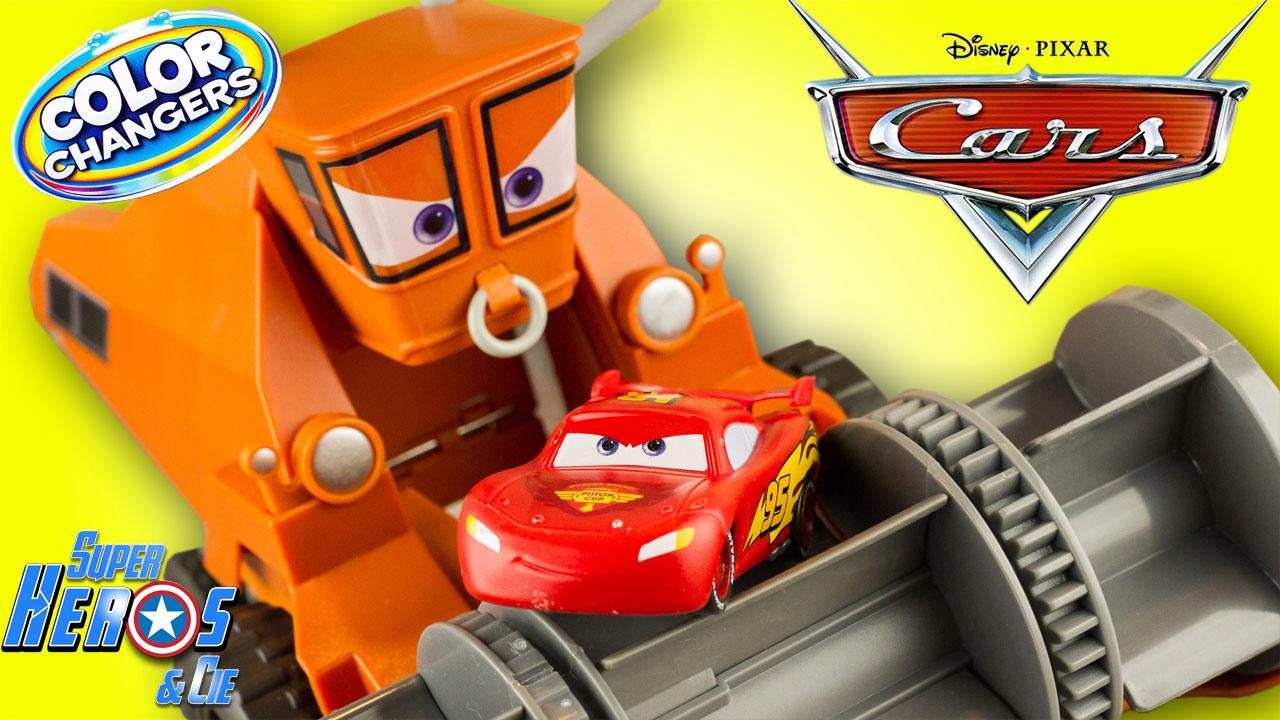 Super h ros et compagnie flash mcqueen - Moissonneuse cars ...