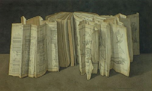 Doctor Ojiplatico. Jonathan Wolstenholme. The Surreal Books on Books