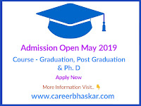 Admission Open May 2019
