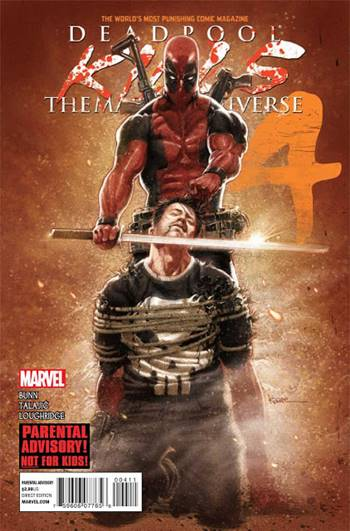 Dedpool mata al universo Marvel