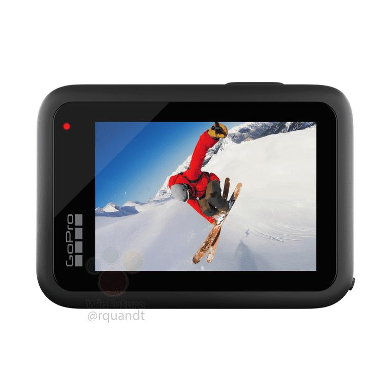 GoPro Hero 10, вид сзади
