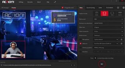 aplikasi perekam layar komputer-PC-Laptop Terbaik & Gratis 2020 -action recorder