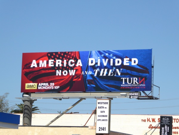 America Divided Now and Then Turn season 3 billboard