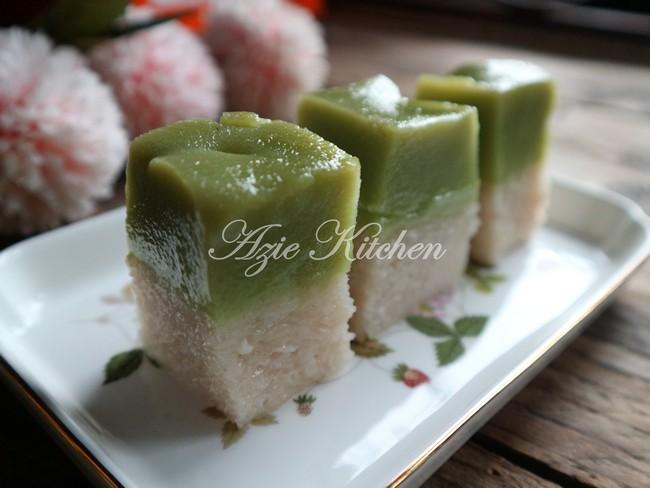 Kuih Seri Muka Istimewa Azie Kitchen A Keeper Recipe