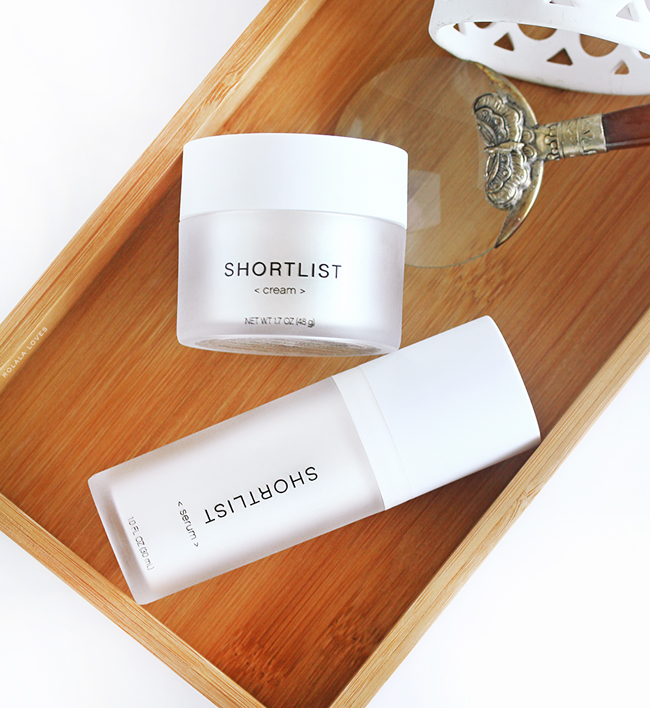 Shortlist, Shortlist Skincare, Shortlist Serum, Shortlist Cream, Shortlist Review, Shortlist Beauty Review, Less Is More Beauty,