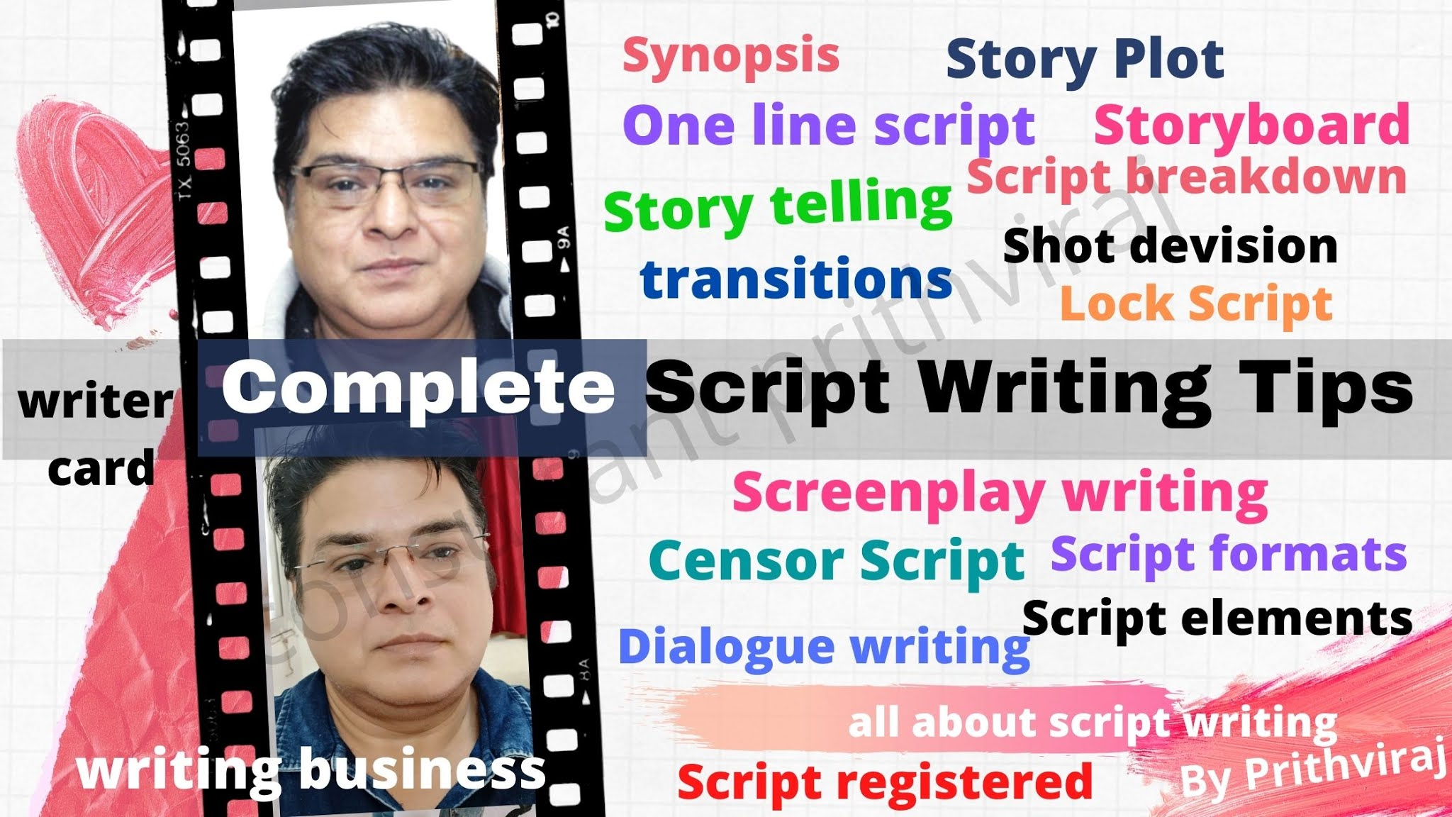 How to write a script for film and video productions-Professional film script writing seekhe