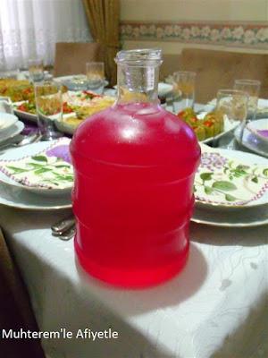 iftar için soğuk içecek tarifi