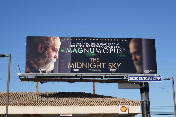 Midnight Sky FYC billboard