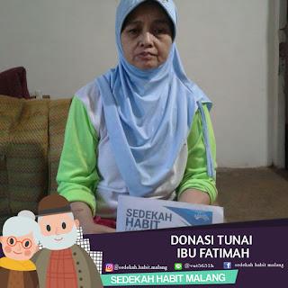 Ibu Fatimah : Donasi Tunai