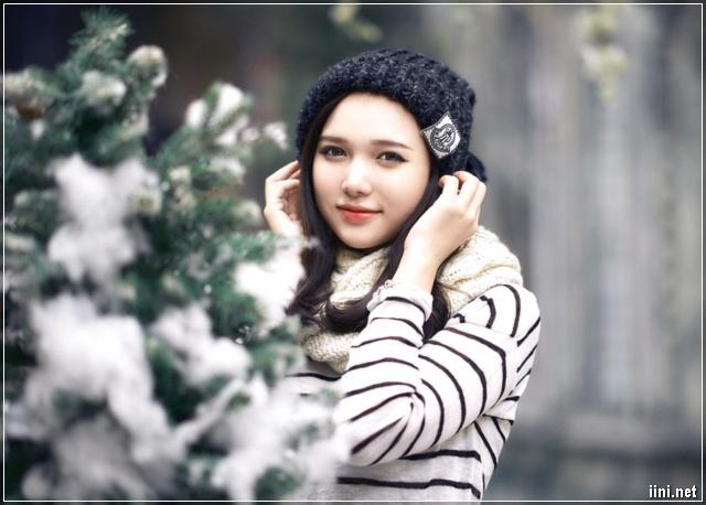 cô gái và mùa đông