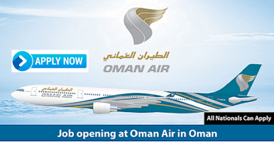 Latest Job Vacancies in Oman Air