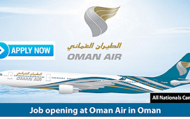 Latest Job Vacancies in Oman Air