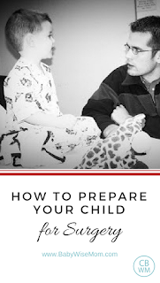 How to prepare your child for sugery