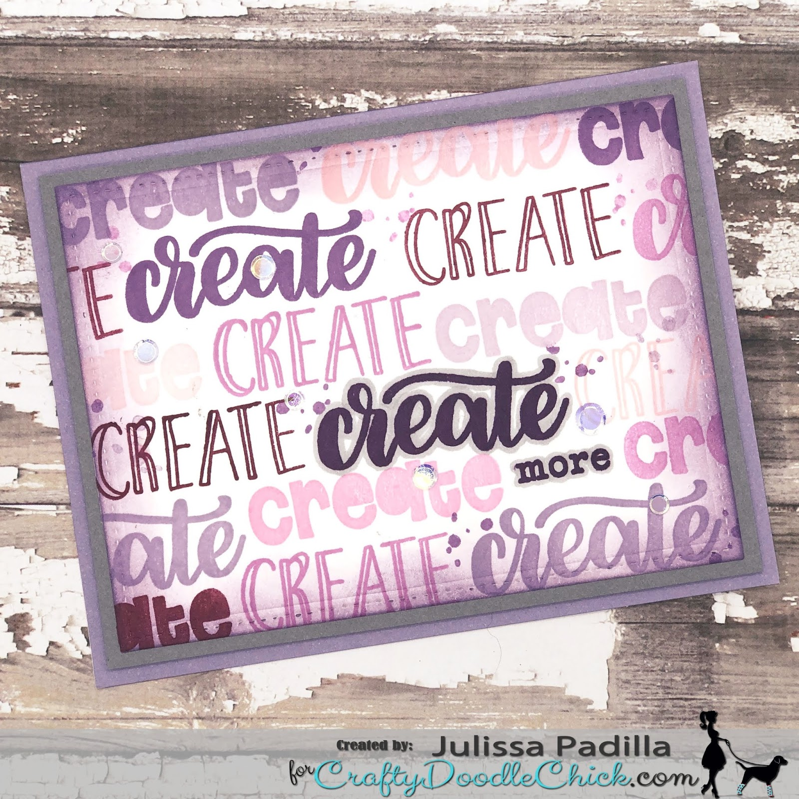 CraftyDoodleChick com: Eat, Sleep and Create!