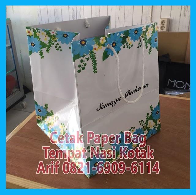 Cetak Shopping Bag Paper Bag Murah Rawamangun