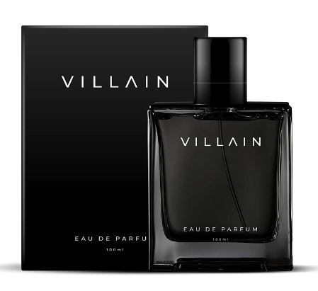 Villain Perfume For Men 100 Ml - Eau De Parfum - Premium Long Lasting Fragrance Spray - Woody & Spicy