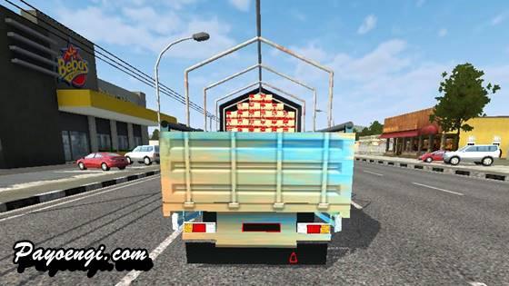 mod bussid truck hino 500 kepet gondal gandul