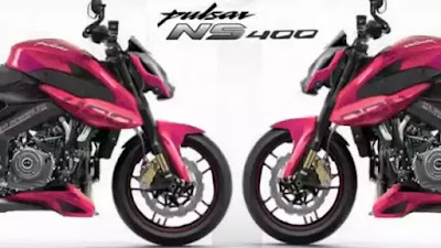 Pulsar ns 400 lunch in india
