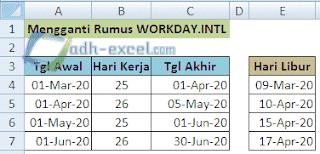 rumus workday.intl excel 2007