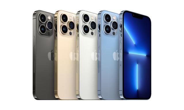 ألوان هاتف ايفون 13 برو ماكس