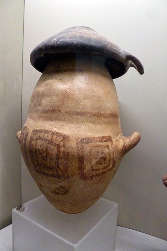 Vaso bicônico etrusco
